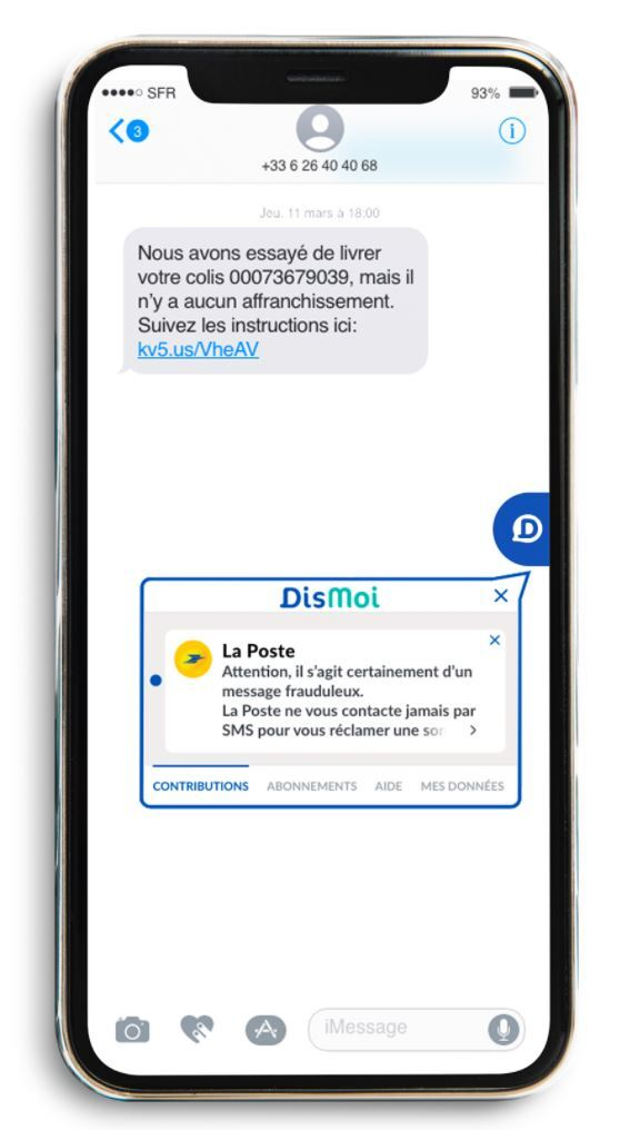 DisMoi sur Android